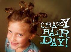 Oak Creek Kids: Tomorrow is BGMC Crazy Hair Day!!!