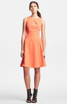 Kenneth Cole New York 'Sherry' Fit & Flare Dress (Regular & Petite) available at #Nordstrom