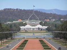 Australia's Parliament House is one of Canberra's landmarks