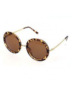 299d21b19f Retro Metal Nose Bridge Slim Mirror Legs Round Circle Sunglasses - C4 -  C412JUOIE51