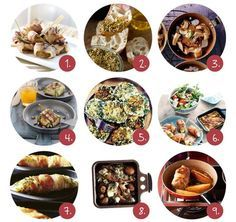 Barbecue Recipes, Gourmet Recipes, Sweet Recipes, Fondue, Teppanyaki, Good Food, Yummy Food, Brunch Party, Tapas