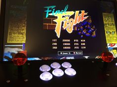 Final Fight - Double Impact (XBOX 360 / Capcom) with my homemade Full Sanwa Arcade Panel