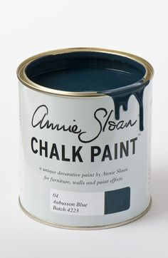 <p>Named after the blue found in classic Aubusson rugs from France, this colour is inspired directly by the development of Prussian Blue in the late 18th Century. It's the perfect colour for a Swedish interior.</p> <p>Available in 100ml small project pots and 1 litre tins.</p>