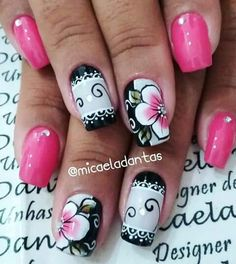 Unha diferente de Micaela Dantas. Different nail by Micaela Dantas. Uña diferente por Micaela Dantas. Unghie different di Micaela Dantas. Mani Pedi, Manicure And Pedicure, Merry Christmas Gif, Water Nails, Nail Jewelry, Nail Arts, Toe Nails, Nails Inspiration, How To Do Nails