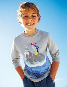 Sea Montage T-shirt 21854 Logo T-Shirts at Boden
