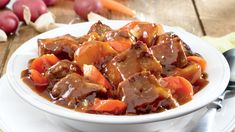Cozy up to our favorite Homestyle Beef Stew recipe, perfect for a big night in. Crockpot Recipes, Dog Food Recipes, Cooking Recipes, Healthy Recipes, Healthy Food, Easy Recipes, Pressure Cooker Beef Stew, Pressure Cooker Recipes, Slow Cooker