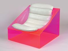 A lounge chair, model Toy, Italian design by Rossi Molinari for Totem. Designed in 1968.