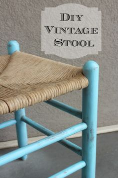 Batchelors Way: Office Redo - Pull up a vintage stool!