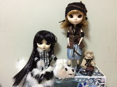 Pullip doll: Chill and Rovam By Mes Crazy Experiences