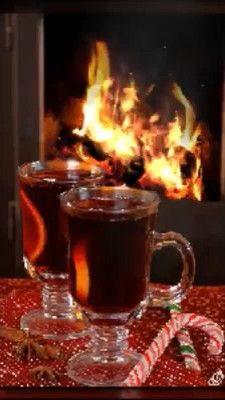 Good Morning Coffee Gif, Good Morning My Friend, Good Night Friends, Good Night Gif, Good Morning Picture, Morning Pictures, Morning Images, Christmas Scenery, Christmas Mood