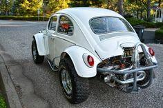 Like the bumper and exhaust setup. Vw Baja Bug, Car Volkswagen, Vw Cars, Vw Dune Buggy, Dune Buggies, 4x4, Sand Rail, Vw Beetles, Dream Cars