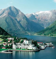 Kviknes Hotel in the fjords of Balestrand, Norway. My favorite place ever.