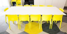 yellow conference room chairs - Google Search