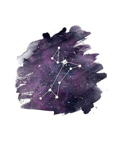 Canis Major constellation print The Big Dog constellation