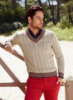 Mag. 184 - n° 11 Pull col V Modèles, broderie & tricot Achat en ligne