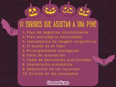 10 Errores que asustan a las #PYMES    #halloween #happyhalloween #terror
