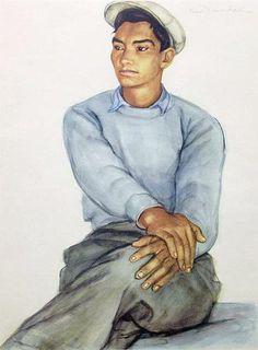 Nils Dardel (Mexican boy)