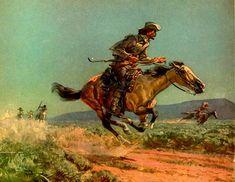 Buffalo Bill Cody by Harold von Schmidt (1893 – 1982)