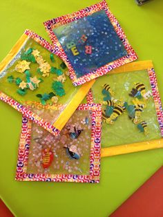 Sensory Bags for Sensory playing great kid activity for both baby and toddlers. Educational Activities For Kids, Sensory Activities, Infant Activities, Baby Sensory Play, Baby Play, Infant Toddler Classroom, Sensory Bags, Kids Playing, Kindergarten