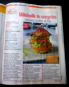 millefeuilles de courgette @LauryRow