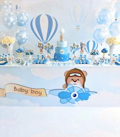 He wanted to make her a surprise and it worked! Thanks so much for the trust you've put into my team and myself. Baby Shower Favors, Baby Shower Cakes, Baby Boy Cakes, Baby Shower Fun, Baby Shower Balloons, Baby Shower Themes, Baby Shower Invitations, 1st Birthday Boy Themes, Baby Birthday