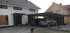 #Vordach #Carport #Eingang #Überdachung #Siebau