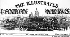 The Illustrated London News - the inspiration for the newspaper in Courting Claudia