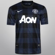 37c518a3cf Camisa Nike Manchester United Away s nº - Compre Agora