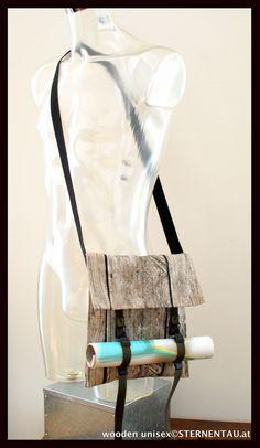 STERNENTAU handmade bags  unisex wooden Umhängetasche Fur Bag, Handmade Bags, Austria, Etsy, Unisex, Vintage, Fashion, Craft Gifts, Jewerly