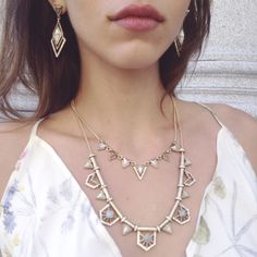 Inspired by the Pantheon of Rome, our geo-chic Portico collection is one for the ages! Shop my boutique: https://www.chloeandisabel.com/boutique/emilyryan