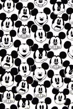 fondos blanco y negro - mickey mouse