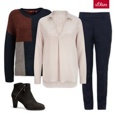 Check out 1 jumper - 3 styles #fashion #outfit #style