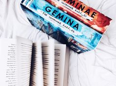 "528 Likes, 5 Comments - annie brekker  || 18 ||  (@starfallingpages) on Instagram: ""// Gemina and Illuminae are one of the most beautiful books I own  And I'm so happy that I have…"""