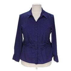 Polka Dot Button-up Shirt
