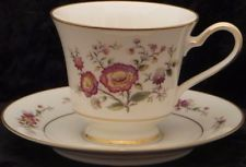 Noritake Ivory China Asian Song 7151 Tea Cup & Saucer Japan (10 Sets Available)