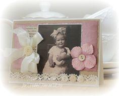 Vintage Card  Handmade Shabby Chic  Vintage  vintage door Neltine