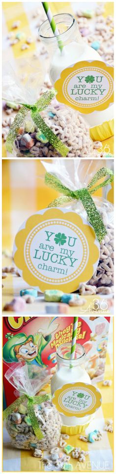You are my lucky charm FREE PRINTABLE! Perfect for St. Patrick's Day breakfast! #stpatricksday