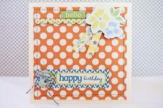 Happy Birthday card *Lily Bee* - Scrapbook.com