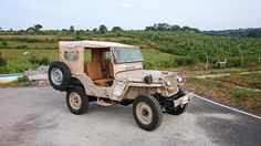 1947 Willys CJ-2A - Photo submitted by Vivek Krishnan.