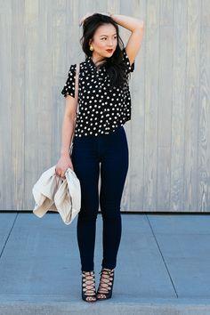 The Fancy Pants Report - polka dots
