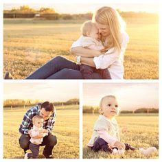 Fall family love