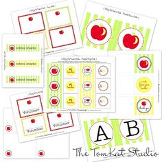 {Blast from the Past} Free Printable Teacher Notes!