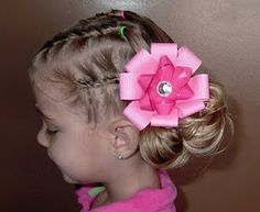Super cute ideas for little girl hair styles. Tutorials included.