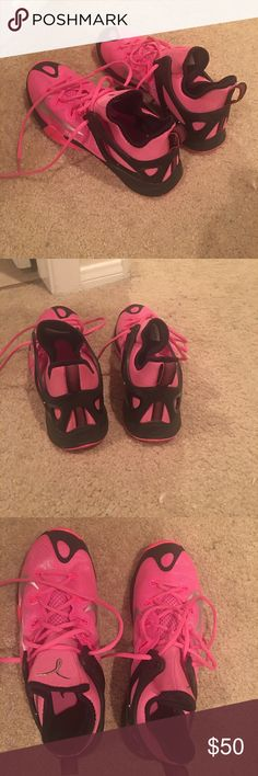 Brand new Nike zoom breast cancer edition Pink and black (breast cancer) Nike zoom basketball shoes Shoes Athletic Shoes