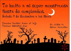 Invitación para el cumple de Lucia 2013