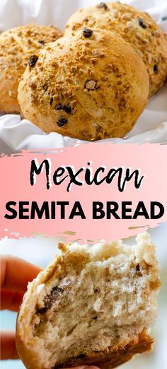 This sweet and tender semita bread is designed to be eaten with your morning café de olla or a cold glass of your favorite plant-milk. Piloncillo, raisins, cinnamon, orange zest, and anise are studded Mexican Pastries, Mexican Sweet Breads, Mexican Bread, Vegan Mexican Recipes, Mexican Dessert Recipes, Raw Food Recipes, Freezer Recipes, Freezer Cooking, Bread Recipes