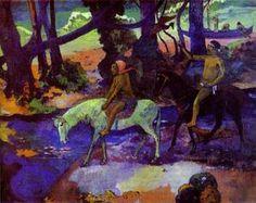 Running Away - (Paul Gauguin)