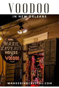 Dark Travel in New Orleans, things to do in New Orleans, Spooky things to do in New Orleans, ghost tours in the French Quarter, things to do in the french quarter New Orleans, French Quarter history, tours in New Orleans, cemeteries in New Orleans, Voodoo history in New Orleans, Marie Laveau's House of Voodoo, Voodoo Queen of New Orleans, things to do in NOLA, wanderingcrystal, haunted places to visit in New Orleans, vampires in New Orleans, St Louis Cemetery No 1 #NewOrleans #DarkTravel… New Orleans Travel Guide, New Orleans Vacation, Visit New Orleans, New Orleans Trip, New Orleans Shopping, Louisiana Usa, New Orleans Louisiana, Marie Laveau, Voodoo Shop