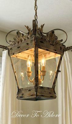 DIY:: Gorgeous & EASY French Lantern Tutorial !
