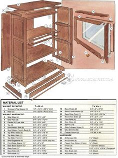 Barristers Bookcase Plans - Furniture Plans and Projects - Woodwork, Woodworking, Woodworking Plans, Woodworking Projects Kreg Jig Projects, Woodworking Projects Plans, Wood Projects, Diy Furniture Decor, Furniture Plans, Painted Furniture, Bookcase Plans, Bookcase Door, Kitchen Cabinet Sizes